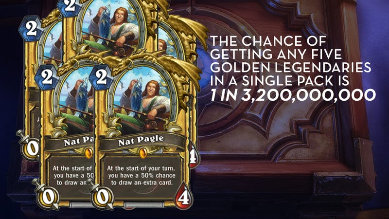 Illustration for article titled Here's How Rare Hearthstone Cards Actually Are