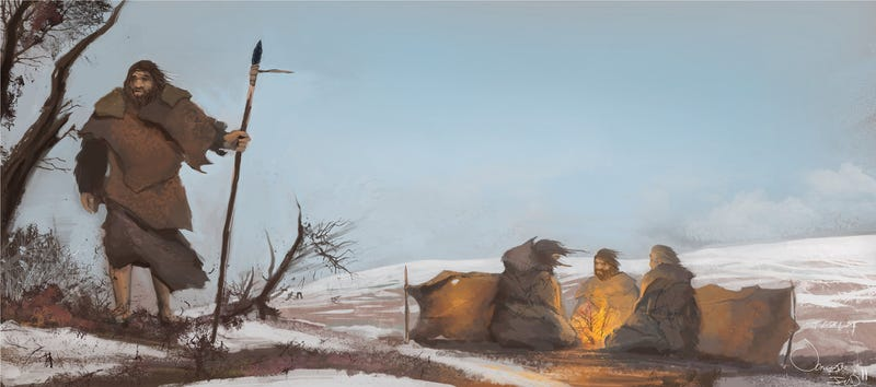 Illustration for article titled Neanderthals Survived in Ice Age Europe Thanks to Effective Healthcare