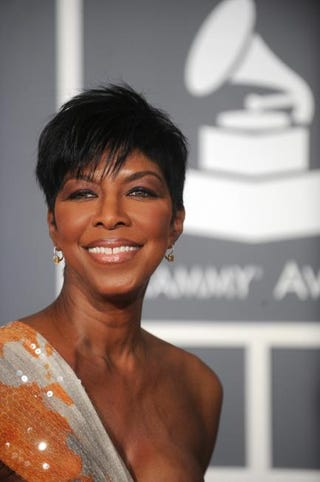 Singer Natalie Cole arrives at the 51st annual Grammy Awards in Los Angeles on Feb. 8, 2009.GABRIEL BOUYS/AFP/Getty Images