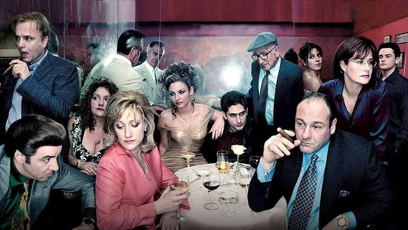Illustration for article titled There's a concept EP about The Sopranos, and it's amazing