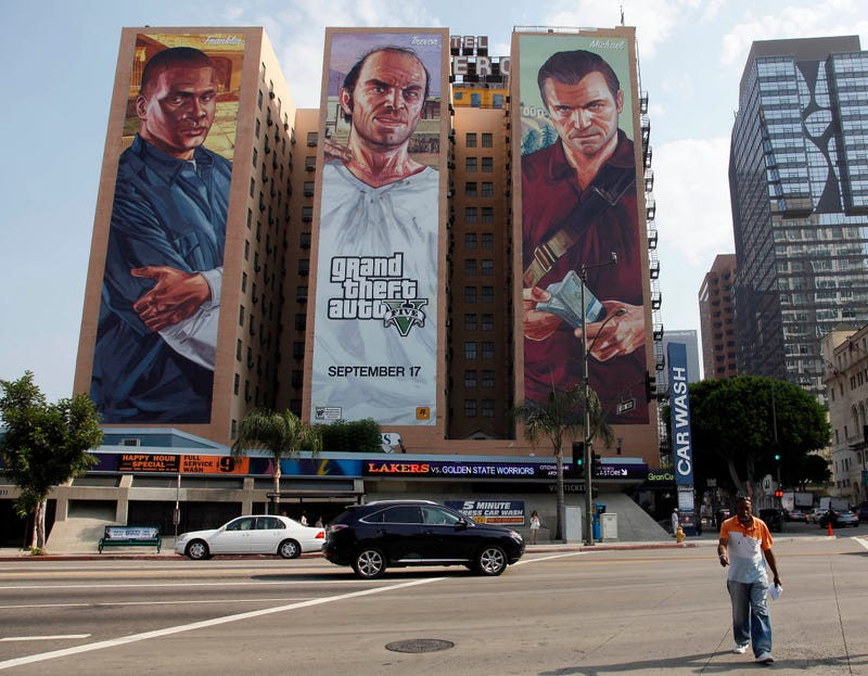 Illustration for article titled 'Grand Theft Auto V' Broke Sales Records Because Everybody Bought It