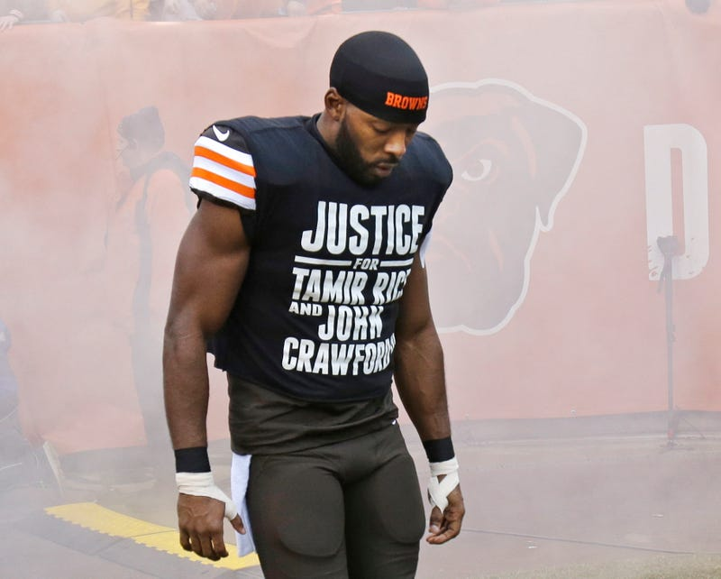 Illustration for article titled Andrew Hawkins Has Some Remarkable Thoughts On Protest