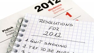 Illustration for article titled Top 10 Easy-to-Keep Resolutions for This New Year