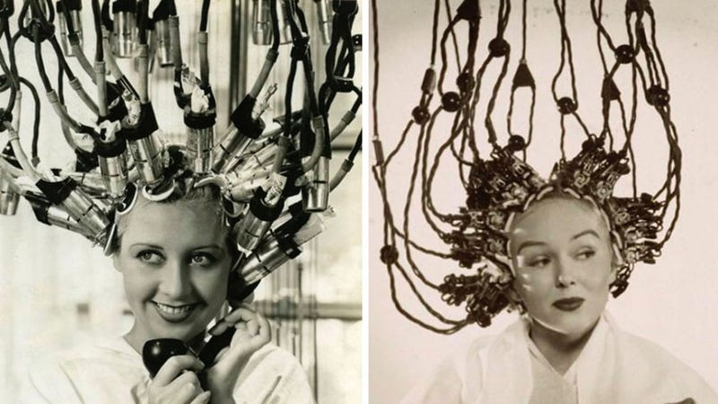 Illustration for article titled Hair Dryers Used to Look Like Alien Mind-Control Helmets