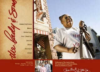 Image from Paula Deen's website for the Lady & Sons restaurantThe Lady & Sons