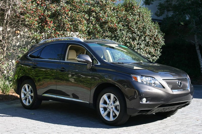 2010 lexus rx 350 rx 450h first drive. Black Bedroom Furniture Sets. Home Design Ideas