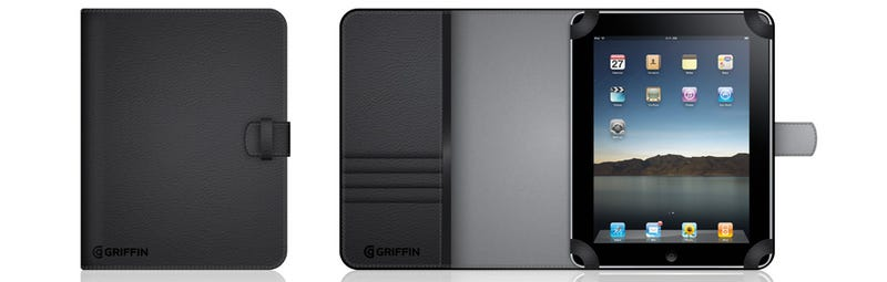 Illustration for article titled Griffin Announces Its First iPad Accessories: Cases, Sleeves, Screen Protectors