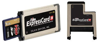 Illustration for article titled Delkin Devices Intros Two ExpressCard Flash Memory Readers