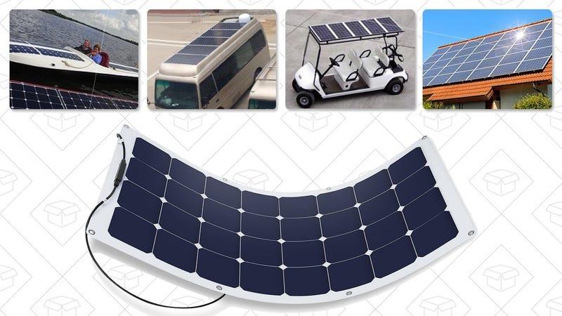 Suaoki 100W Solar Panel | $100 | Amazon | Promo code L7V8AVBD