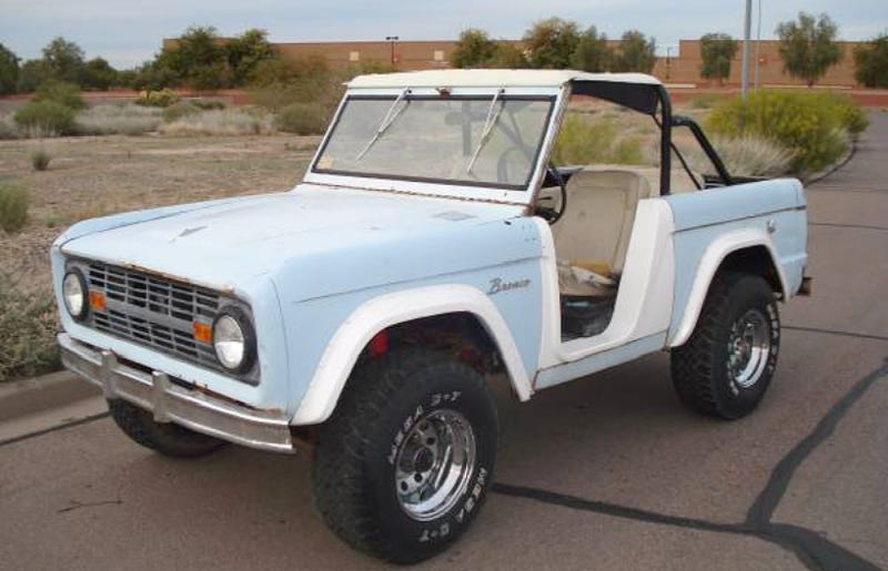 Illustration for article titled For $8,900, This 1966 Ford Bronco U13 Roadster Says Giddy Up