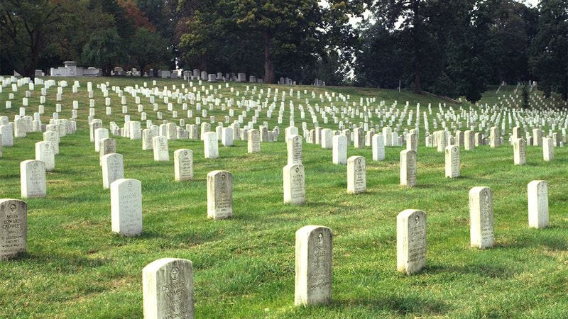 Illustration for article titled Once-In-A-Lifetime Opportunity: Arlington National Cemetery Is Going On A 50-City Tour