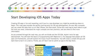 Illustration for article titled Apple's Start Developing iOS Apps Today Guide Is a Roadmap for Creating Your First App