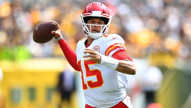 Chiefs Patrick Mahomes Is Eviscerating The Steelers