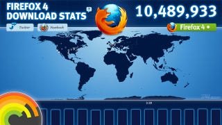 Illustration for article titled Remains of the Day: Firefox 4 Tops Ten Million Downloads