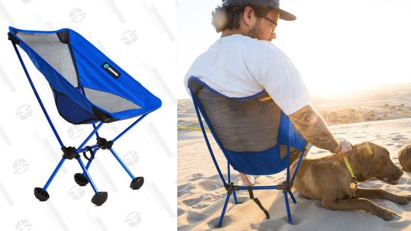 Silla de camping portátil | $40 | AmazonGráfico: Jillian Lucas