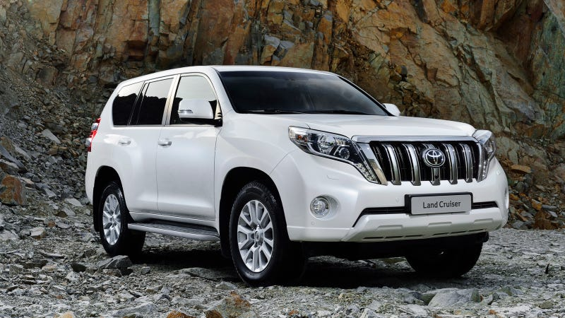 Illustration for article titled The 2014 Toyota Land Cruiser Prado Wants To Eat Your Children
