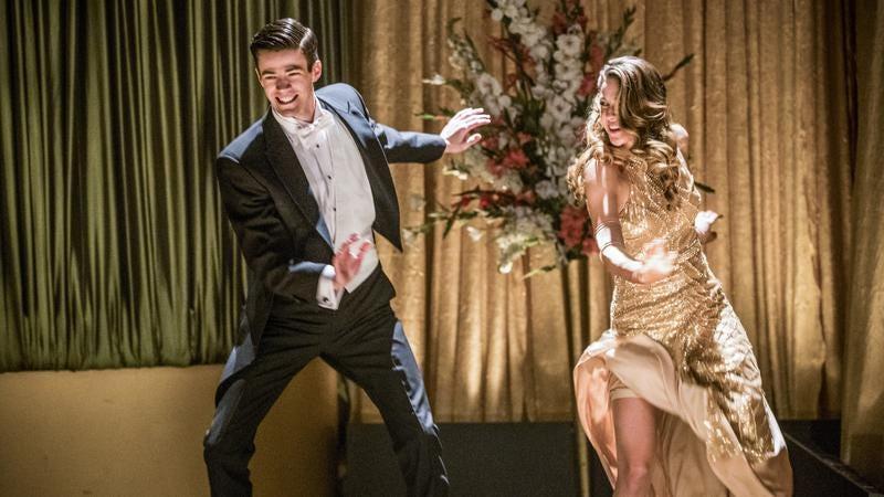 Grant Gustin, Melissa Benoist/The CW