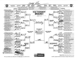 """Illustration for article titled Senate Candidate George """"Macaca"""" Allen Busts His Own Bracket For Local Votes"""