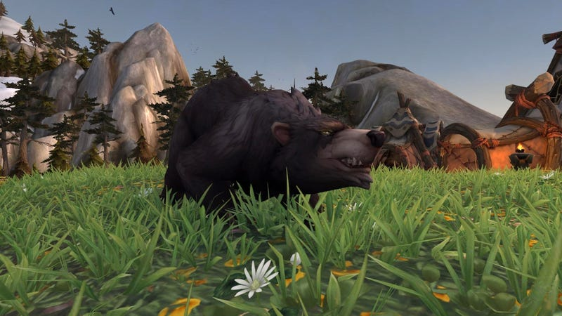 Illustration for article titled Old World Of Warcraft Glitch Created A Terrifying Instant Death Bear