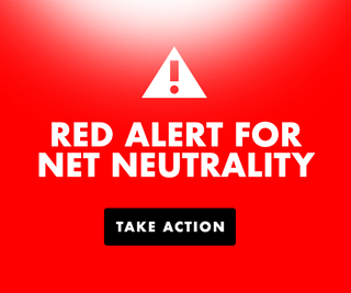 Illustration for article titled Red Alert: The Fight for #NetNeutrality Continues