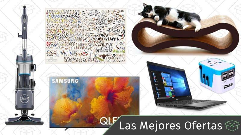 Illustration for article titled Las mejores ofertas: Aspiradora Hoover, televisores QLED, pósters de Pop Chart Lab y más