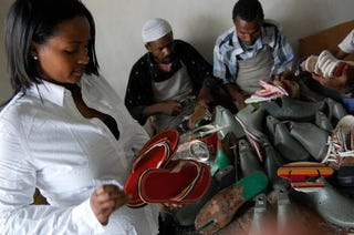 """Illustration for article titled Woman-Owned Shoe Company Poised To Become """"Africa's Answer To Nike"""""""