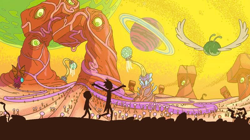 Illustration for article titled Surprisingly, Dan Harmon's Rick And Morty is kind of a big hit