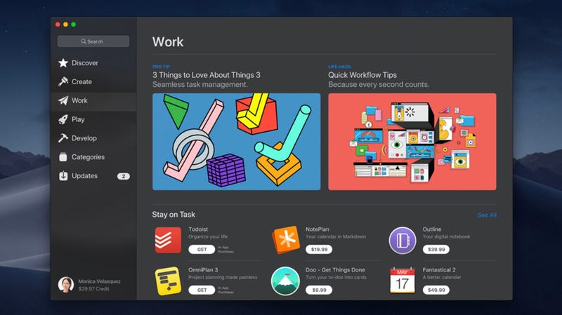 Illustration for article titled Apple's Dusty Mac App Store Finally Gets Some Love