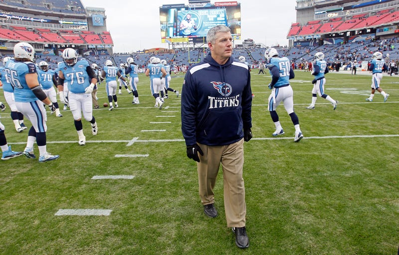 Illustration for article titled Mike Munchak Left The Titans Rather Than Fire His Assistants