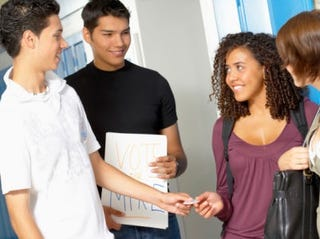 Young voters (Thinkstock)