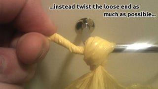 Illustration for article titled To Loosen Nearly Any Knot, Twist the End and Push