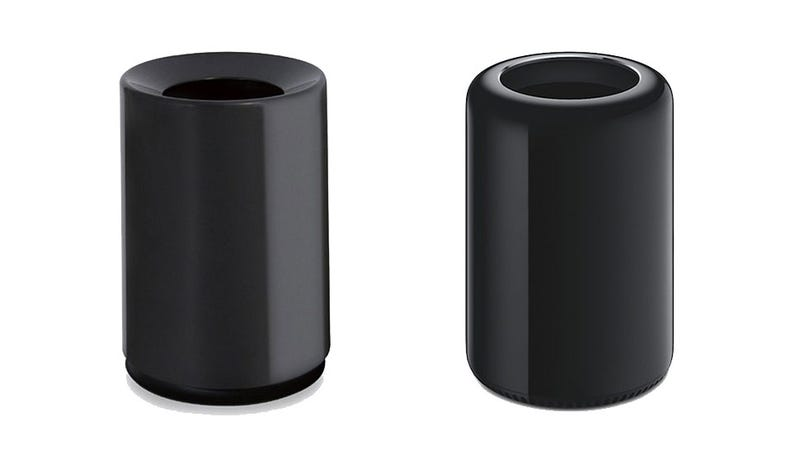 Illustration for article titled Garbage Can That Looks Like the Mac Pro Is a Hot Item in Japan