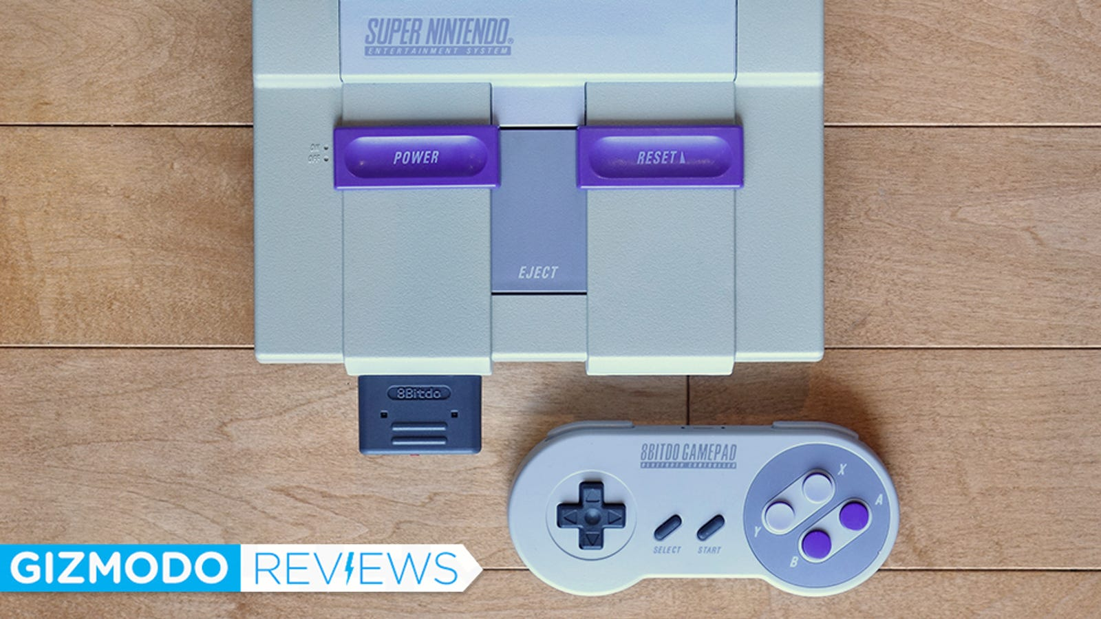 The Super Nintendo Retro Receiver Is a Painless Wireless