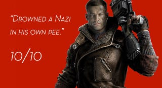 Illustration for article titled Wolfenstein, As Told By Steam Reviews