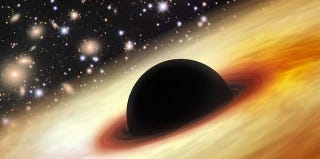 Astronomers Discover Mysterious Black Hole As Massive As 12 Billion Suns