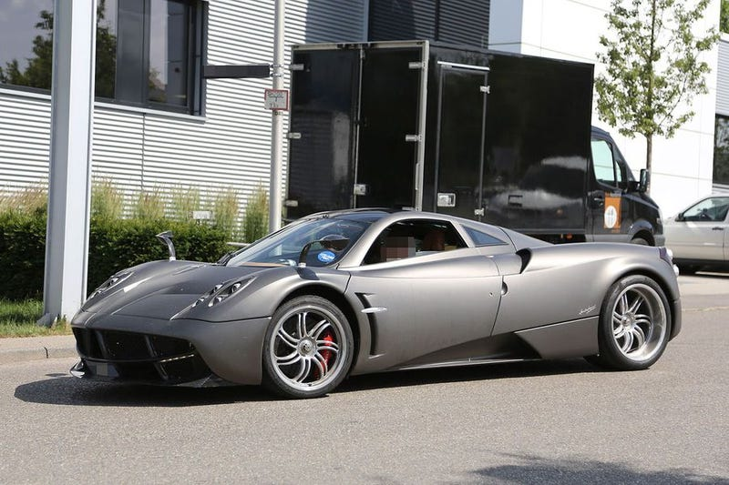 Illustration for article titled Pagani Huayra spotted in Affalterbach