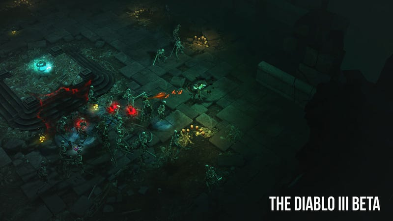 Illustration for article titled Hands On with the Diablo III Beta