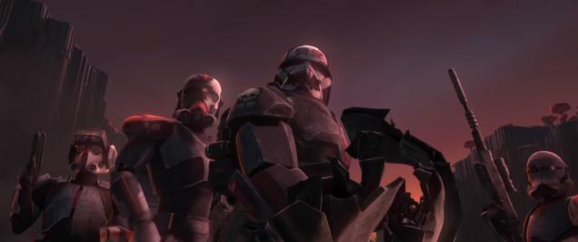 Meet the Stars of Clone Wars  Imminent Return, the Bad Batch