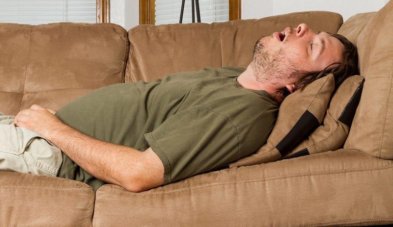 Illustration for article titled Pronto, tu smartphone también te dirá cuánto roncas al dormir