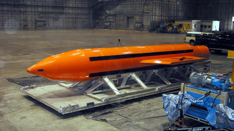 US hit IS with largest non-nuclear bomb ever used