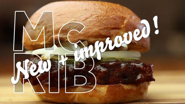 Make a Better Version of the McDonald's McRib at Home