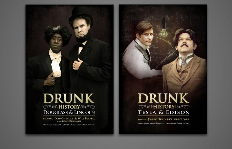 Illustration for article titled Drunk History