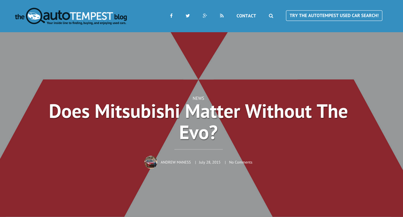 Illustration for article titled Does Mitsubishi Matter Without The Evo?