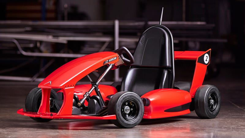 Ilration For Article Led The Arrow Smart Electric Go Kart Is A Tesla Nine