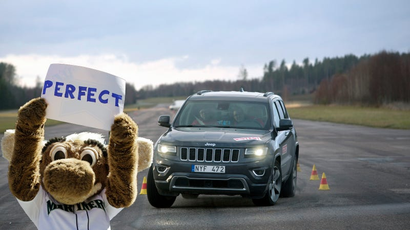 Illustration for article titled 2014 Jeep Grand Cherokee Deemed 'Moose Worthy'