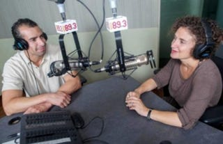 "Southern California Public Radio's ""Take Two"" morning show features co-hosts A. Martínez, left, and Alex Cohen, and will be a model for NPR diversity efforts, according to new CEO Jarl Mohn.KPCC"