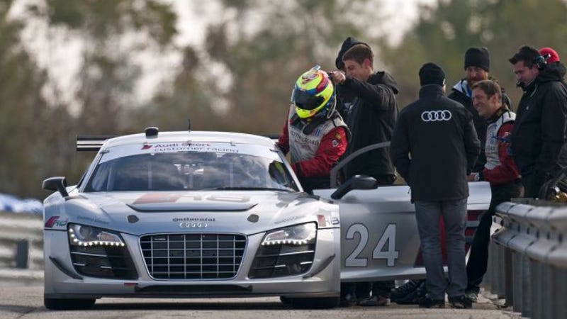 Illustration for article titled Audi R8 LMS Picked By Flying Lizard Motorsports For TUDOR United SportsCar Championship