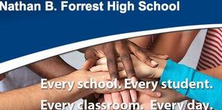 Nathan B. Forrest High School website screenshot