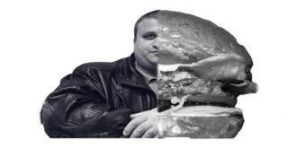 Illustration for article titled Hatalmas burgert fog felfalni Fekete Laci Győrben
