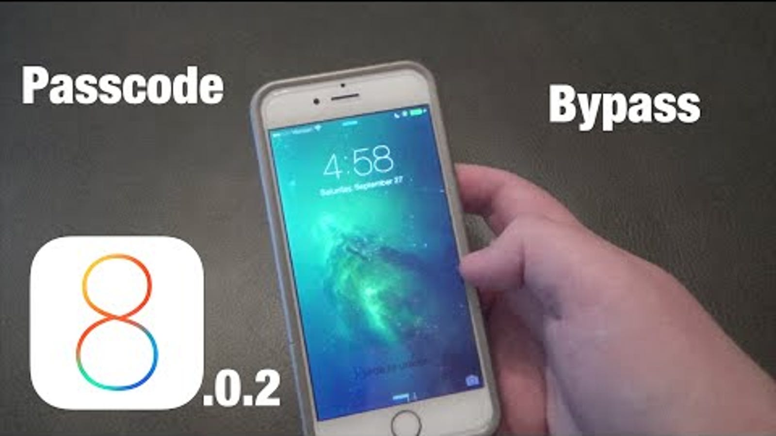 Alleged iOS 8 Passcode Bypass Appears to Be Bogus (Updated)